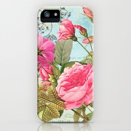Vintage Flowers #3 iPhone Case