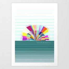 loco in acapulco Art Print
