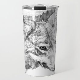 Eastern timber wolf Travel Mug