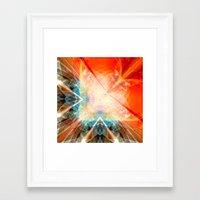 angel Framed Art Prints featuring Angel by Christine baessler