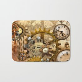 steampunk Bath Mat