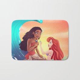 Moana and Ariel Bath Mat