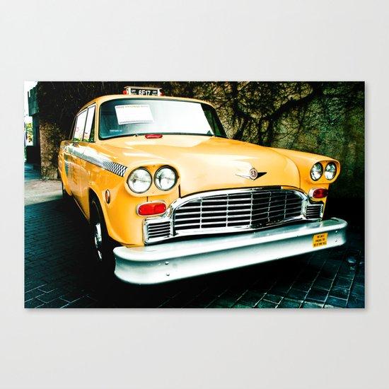 Yellow Cab (2) Canvas Print