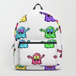 Little Ghosties Repeating Ghosts Cartoon Backpack