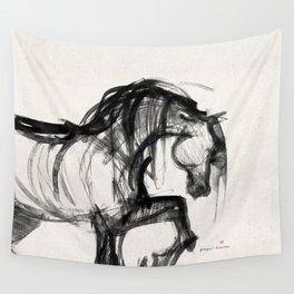 Horse (Saklavi Portrait) Wall Tapestry