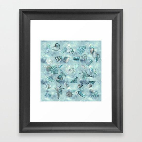 Sea shells Wonder 2 by k9printart