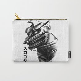 Waterbrushed Robot Protector Carry-All Pouch