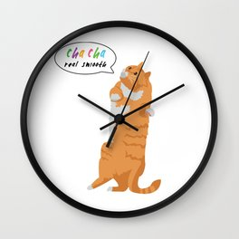 Cha Cha Real Smooth Wall Clock