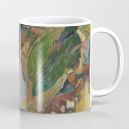 The Flageolet Player on the Cliff, Paul Paul Gauguin Coffee Mug
