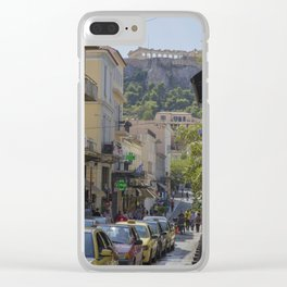 Parthenon, Athens Clear iPhone Case