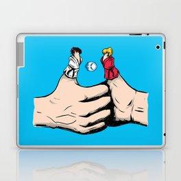 Thumb Fight Laptop & iPad Skin