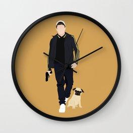 Kingsman, Eggsy, JB Wall Clock