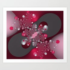 Bubbly Infinity Art Print