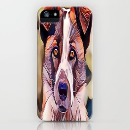 The Norwegian Elkhound iPhone Case