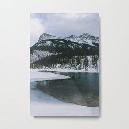 Spray Lakes, Canmore IV Metal Print