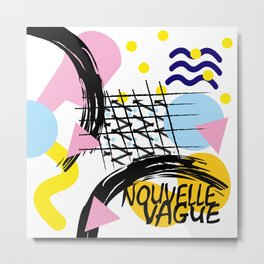Compo nouvelle vague Metal Print