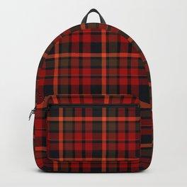 Christmas Plaid 8 Backpack