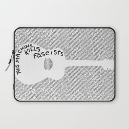 On Practicing (Guitar Poster) Laptop Sleeve