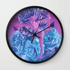 standing bow Wall Clock