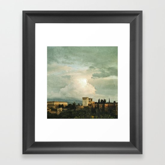 Up on the Hill Framed Art Print