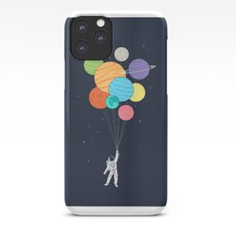 Planet Balloons iPhone Case
