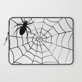 Spider and Web Laptop Sleeve