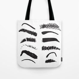 Eyebrows Tote Bag
