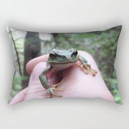 Frog Friend Rectangular Pillow