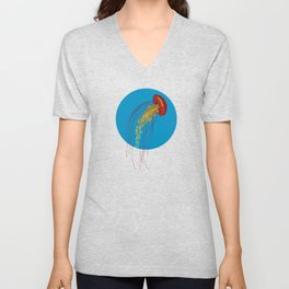 Stitches: Jellyfish Unisex V-Neck
