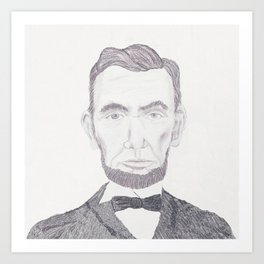 Mr. Lincoln Art Print