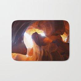 Antelope Canyon Swirl Bath Mat