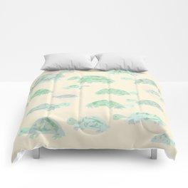 turtle mania Comforters