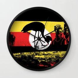Uganda Wall Clock