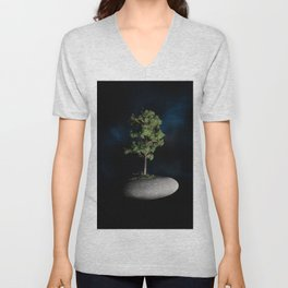 The First Sanctuary in Space Unisex V-Neck