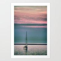 sail Art Prints featuring Sail by Alaina Abplanalp