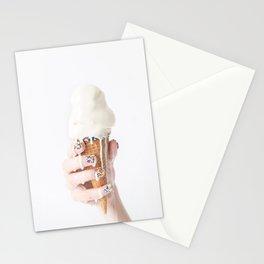 Melting Ice Cream Stationery Cards