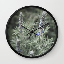 Wildflowers | Botanical Photography | Plant | Flowers | Nature Wall Clock