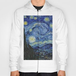 Classical Masterpiece 'Starry Night' by Vincent van Gogh Hoody