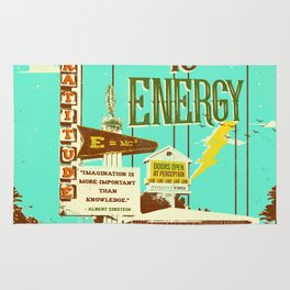 EVERYTHING IS ENERGY Rug