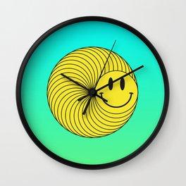 Smiley Ring Wall Clock