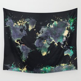 world map 126 #worldmap #map Wall Tapestry