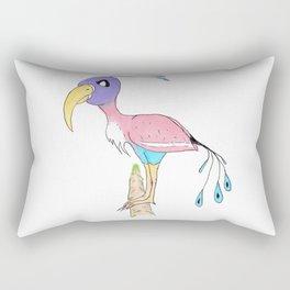 Odd Bird Out Rectangular Pillow