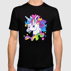 Deadicorn MEDIUM Mens Fitted Tee Black