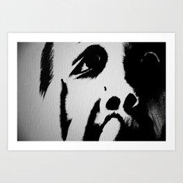 Faces of Death Art Print