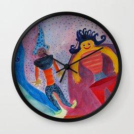 Moon's Friends Dream State Wall Clock