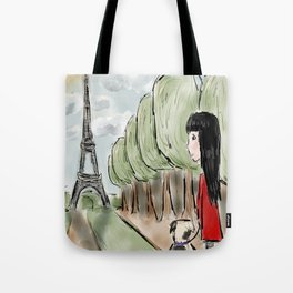 Paris Days Out Tote Bag
