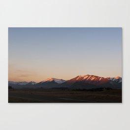 Mt Dobson, Lake Tekapo Canvas Print