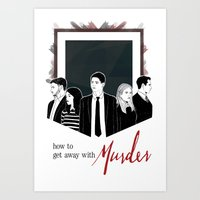 How To Get Away With Murder Art Print