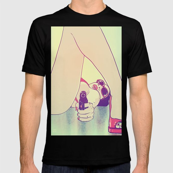 Girl With Gun 2 T-shirt