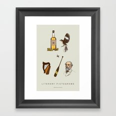 Tequila Mockingbird Framed Art Print
